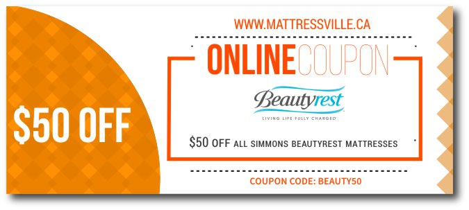 $50 OFF ON SIMMONS BEAUTYREST MATTRESSES