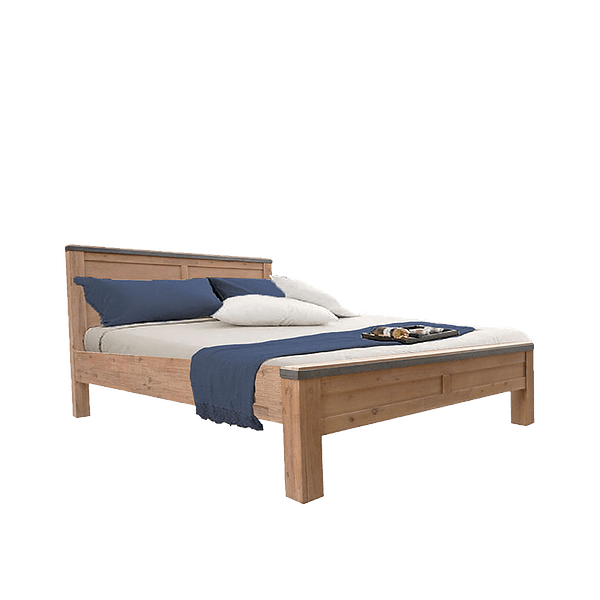 Mimosa Portobello Solid Wood Bed
