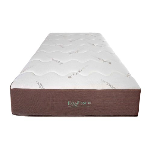 Buy eco fusion organic latex embrace mattress online for Online shopping for mattress
