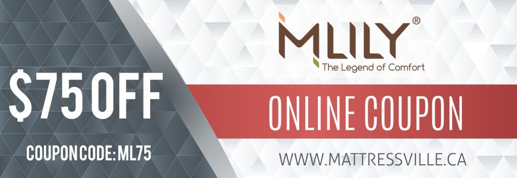 Mlily $75 Discount MattressVille