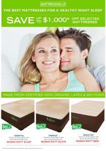 Eco Fusion Organic Latex mattress