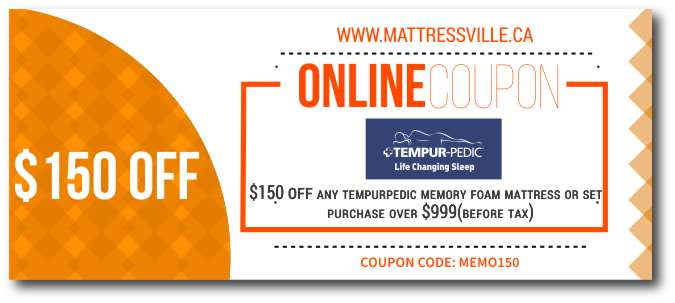 Tempurpedic Mattress Coupon Sale