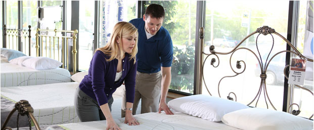 Firm or soft? Which is better for back pain? Compare with a Stearns and Foster Mattress