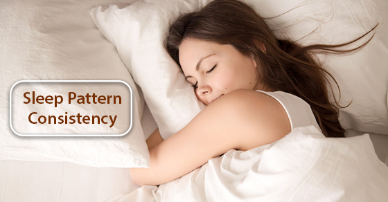 Consistency Is Key When It Comes to Your Sleep Pattern