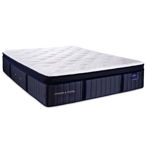 Stearns and Foster Euro Top Luxury Plush Mattress – Toronto