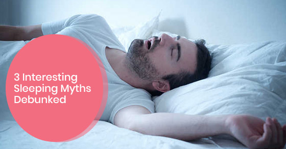 Myths about sleeping