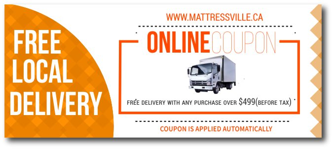 FREE LOCAL DELIVERY COUPON