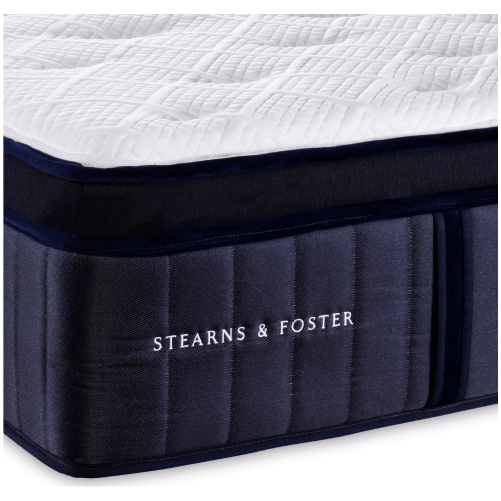 Stearns and Foster Euro Top Luxury Plush Mattress - Toronto