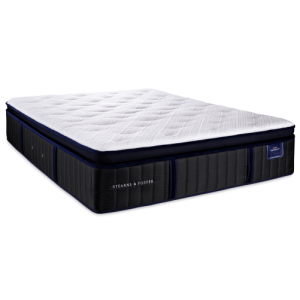 STEARNS AND FOSTER PILLOW TOP LUXURY FIRM MATTRESS