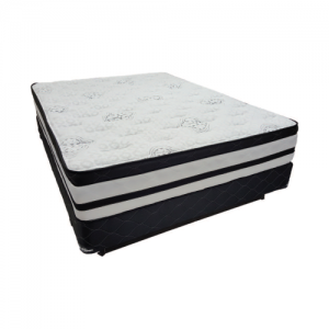 MATTRESSVILLE POCKET COIL EURO TOP MATTRESS