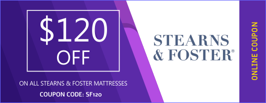 STEARNS & FOSTER  COUPON